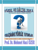 BÖLÜM 1 - Prof.Dr.Mehmet Naci ÖZER