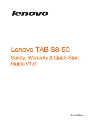 11246225-00 Lenovo TAB SWSG EN for 3G_v1.0 20140806