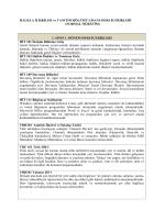 Ders İçerikleri (Normal Öğretim) - Erciyes Üniversitesi İletişim Fakültesi