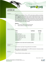 LATEMA 32 - Petro Yag