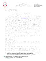 Organ Muhafaza Solüsyonları 12.02.2014