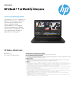 HP ZBook 17 G2 Mobil İş İstasyonu