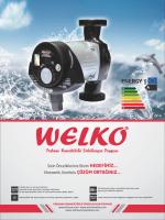 Welko Frekans Kont. Sirkülasyon Pompası Katalog