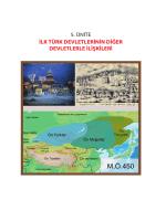 İlk Türk Devletlerinin Diğer Devletlerle İlişkileri