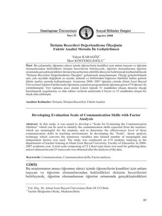 6-yalçın karagöz - Türk Dili Bölümü