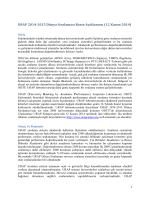 URAP 2014-2015 Dünya Sıralaması Basın Açıklaması (12 Kasım