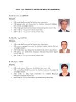 dokuz eylül üniversitesi radyasyon onkolojisi anabilim dalı