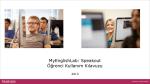 MyEnglishLab: Speakout Öğrenci Kullanım Kılavuzu