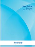 Site Paket Sigortası Özel ve Genel Şartlar PDF