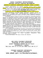 19.03.2015 Tarihli Yerinde Satış Muhtelif Elektrik Elektronik