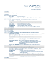 kam çalıştay 2015