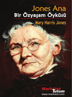 Jones Ana - Marksist Tutum