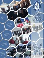 Şubat - Mart Bülteni - İTÜ Geliştirme Vakfı Okulları