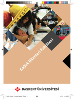 Sağlık Bilimleri Fakültesi - Başkent Üniversitesi Adaylara Bilgi