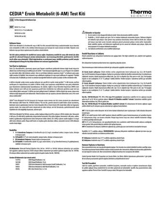 CEDIA® Eroin Metabolit (6-AM) Test Kiti