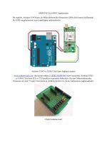 ARDUINO ile GSM Uygulamaları Bu makale, Arduino
