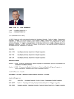 Assist. Prof. Dr. Evren ALPASLAN