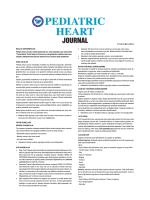 YAZARLARA - türk pediatrik kardiyoloji ve kalp cerrahisi derneği