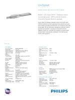UniStreet BGS203 kaldırım aydınlatma armatürü, küçük model