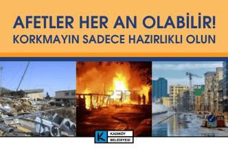 AFETLER HER AN OLABİLİR! - Belediye Arama Kurtarma Takımı