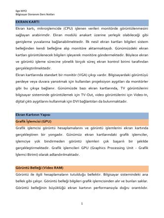 Bilg. Donanım Ders Notu-3