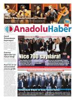 Nice 700 sayılara! - Anadolu Haber Gazetesi