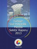 türkiye sivil havacılık sektör meclisi raporu 2013