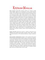 PDF formatlı tadımlık için tıklayınız
