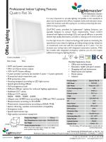 Quatro Flat 36 datasheet eng