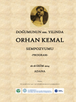 ORHAN KEMAL - Çukurova Üniversitesi