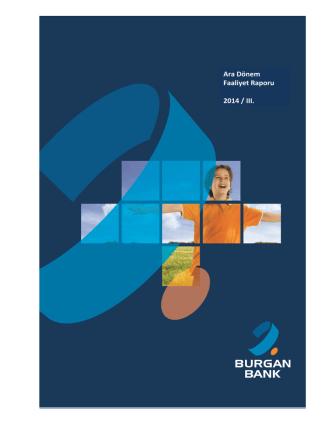Ara Dönem Faaliyet Raporu 2014 / III.