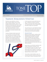 Taşeron Rİsklerİnİn Yönetİmİ - Global Institute of Internal Auditors