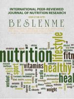 01 - Uluslararası Hakemli Beslenme Araştırmaları Dergisi