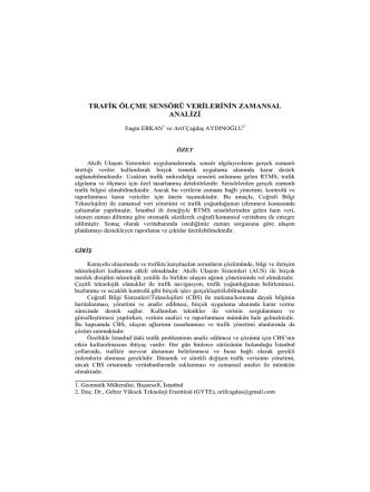 Aydinoglu-2.karayolu - Doç. Dr. Arif Çağdaş AYDINOĞLU