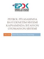 Petrol Piyasasında Bayi Denetim Sistemi Kapsamında