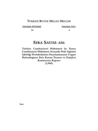 636 - Türkiye Büyük Millet Meclisi