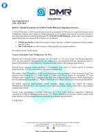 Yabancı Paraların 31.12.2013 Tarihi İtibariyle Değerleme Kurları