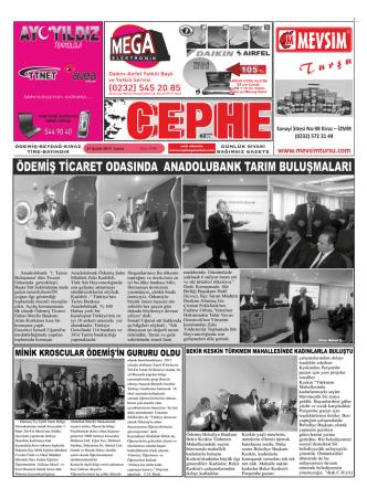 21.02.2014 Tarihli Cephe Gazetesi