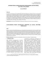 international human resource management and