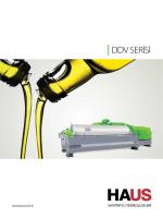 DDV SERİSİ - HAUS Santrifüj Teknolojileri
