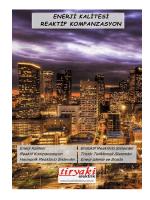 Reaktif Kompanzasyon katalog 06.2014