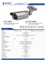 VCC-5246 VCC-5266 - Bilgi Elektronik