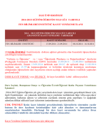 EGE ÜNİVERSİTESİ - Fen Bilimleri Enstitüsü