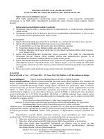 erasmus eğitim alma hareketliliği - Dış İlişkiler ve AB Koordinasyon