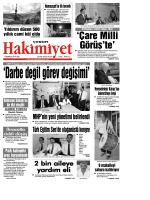 1 temmuz.qxd - Çorum Hakimiyet Gazetesi
