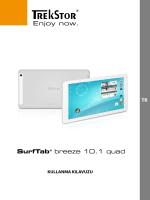 SurfTab® breeze 10.1 quad