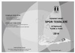 SPOR TESİSLERİ - Terakki Vakfı Okulları