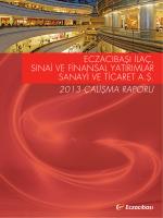 2013 YK Faaliyet Raporu - Yıllık