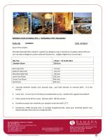 RAMADA PLAZA ISTANBUL OTEL / KURUMSAL FİYAT