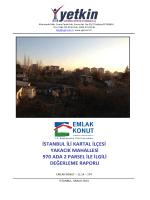 istanbul ili kartal ilçesi yakacık mahallesi 970
